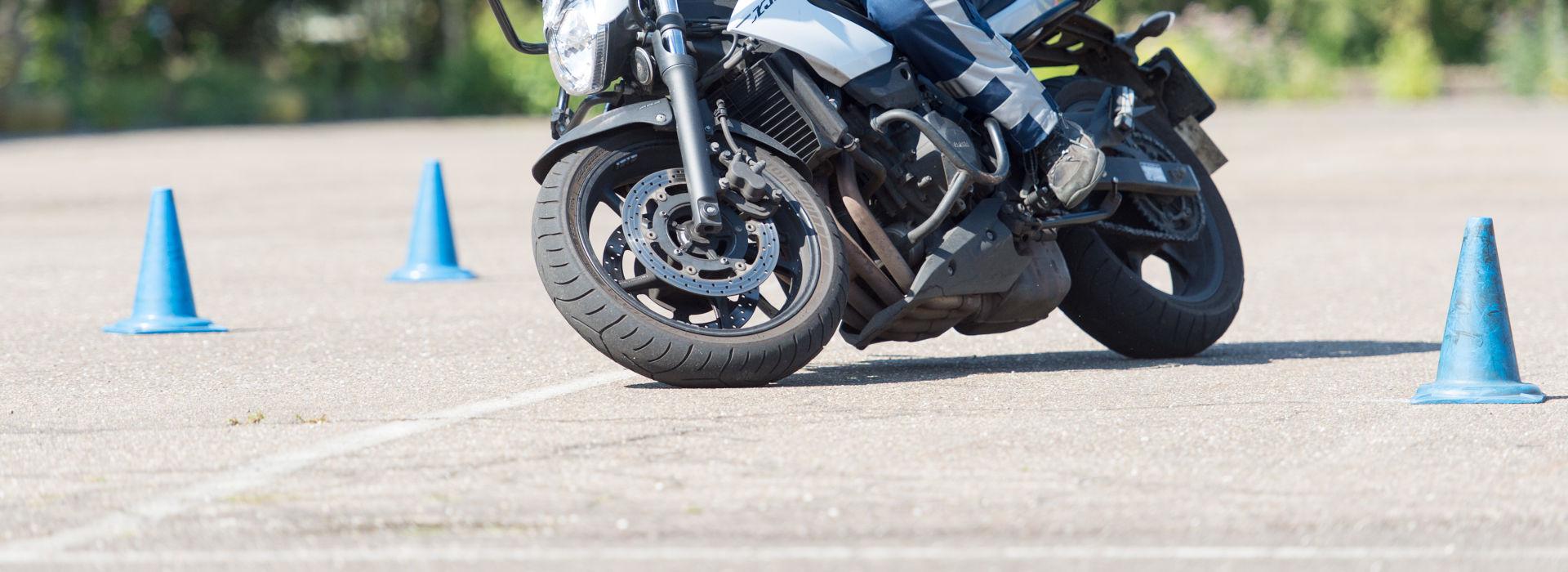 Motorrijbewijspoint Friesland rijtest